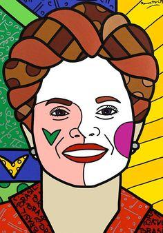 Dilma Rousseff - 2011 - retrato