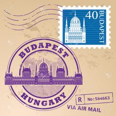 Illustration of Grunge rubber stamp set with words Budapest, Hungary inside vector art, clipart and stock vectors. Royalty Free Images, Royalty Free Stock Photos, Grunge, Travel Stamp, Cruise Travel, Budapest, Clip Art, Words, Drawings