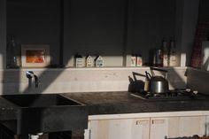 Kookgedeelte buitenkeuken