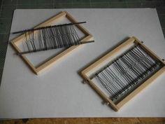 Making heddles (Japan)