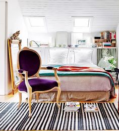 Make sure that your coveted vintage chair is styled just right for your room!