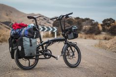 https://flic.kr/p/r4YRFH | Tern Verge S27h on gravel road Redwood Pass (near Blenheim, New Zealand) | Full story: www.14degrees.org/tern-verge-s27h-folding-touring-bicycle...