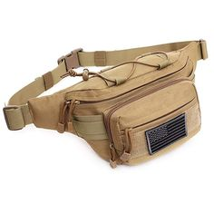 WYNEX Tactical EDC Pouch Molle Utility Pouches Gadget Organizer Phone Holder Waist Pack IFAK Bag Smartphone Pouch Tool Holster Pocket Gadget Waist Pack Canada Patch Included
