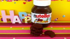 Tiffy bakes yummy Nutella cookies - with only 3 ingredients!