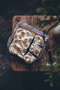 A trip to Norway + Brownies with salted caramel and toasted meringue and a gingerbread bundt cake