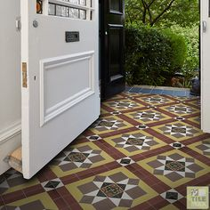 Tilemax Artisan Eco Bordeaux 200x200mm Tile Patterns, Tiles, Inspiration, Artisan