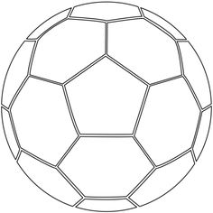 Soccer Ball coloring page from Soccer category. Select from 26202 printable crafts of cartoons, nature, animals, Bible and many more.  P.s-- this could be a fun self discovery journal piece.