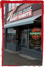 One of our very favorite places to go - a trip to Rocket Donuts completely makes my son Oliver's day :D