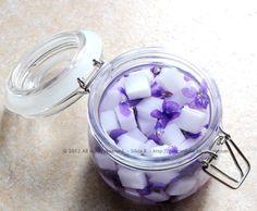 zuccherini alcolici alle violette
