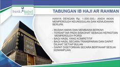 Tabungan iB Haji Ar Rahman Bank Kalsel Syariah