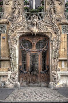 Big beautiful Door - art nouveau