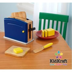 Cookware Playset: Primary Toaster Set
