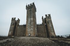 What remains of the Scaligero castle in Valeggio sul Mincio. blog | instagram | web