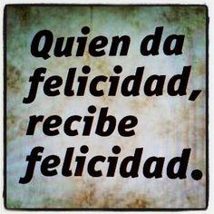 Felicidad para 2013!