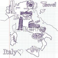 Mappa Creativo di Italia