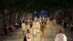 Chanel fashion show in Havana!