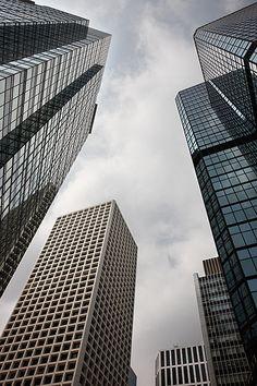 Rascacielos. Hong Kong. Skyscraper.  © Inaki Caperochipi Photography