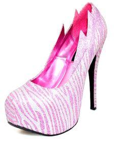 Pink, Zebra and Glitter =