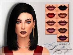 Lipstick 012 by Nastas'ya at TSR via Sims 4 Updates Sims 4 Cc Skin, Sims 4 Mm Cc, My Ex Gf, Mods Sims, Sims 4 Teen, Makeup Tumblr, Sims 4 Cc Makeup, Best Sims, Sims 4 Cas