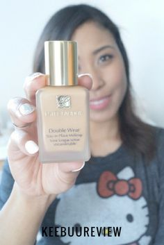 Review of Estee Lauder Double Wear Stay in Place foundation.   keebuublog.com