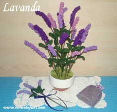Lavanda all'uncinetto www.nonsolofiori.com
