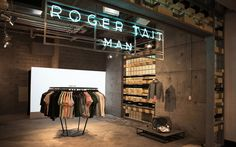 Roger Tait Man by Loopcreative. Photo by Andrew Guidry Photography | Yellowtrace