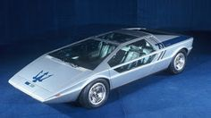 The Maserati Boomerang was a sports car made by Giorgetto Giugiaro. It was shown first at the Turin Auto Show in 1971 as a non-functional mo...