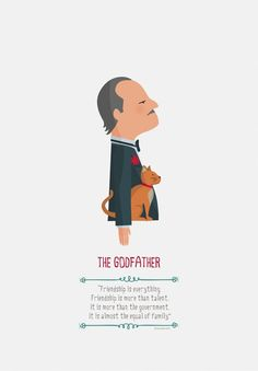"""The Godfather - """"Friendship is everything. Friendship is more than talent. It is more than the government. It is almost the equal of family"""" - Don Vito Corleone #GangsterMovie #GangsterFlick"""