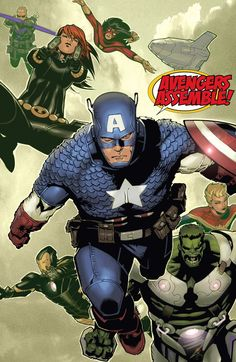 Avengers by Chris Bachalo