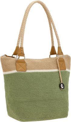The Sak Cambria Crochet Large Tote Bag Julep Block - via eBags.com!: