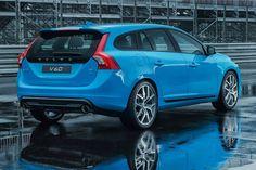 Volvo V60 Polestar back