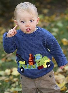 Truck Sweater by Tonia Barry on Ravelry at http://www.ravelry.com/patterns/library/truck-sweater-2