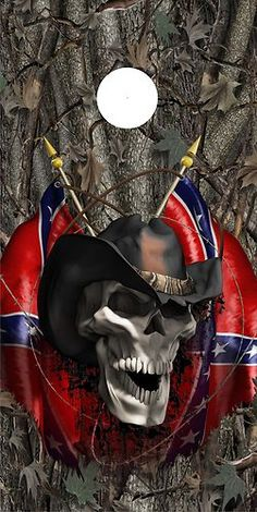 Southern Heritage, Southern Pride, Skull Motorcycle, David Mann Art, Skull Pictures, Harley Davidson Logo, Biker Quotes, Skull Wallpaper, Confederate Flag