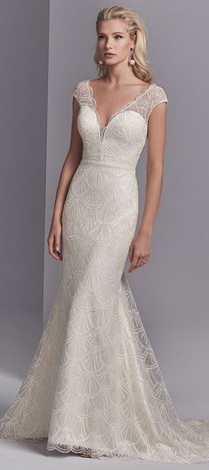 Sottero and Midgley - RAMIRA, a gorgeous vintage-inspired look with chic upgrades.