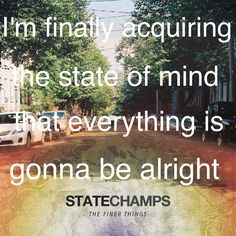 one of my favorite lyrics from their album. Elevated-state champs