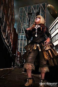 "clockworker: "" Steampunk Spat and choker photo shoot (by Amanda Scrivener) """