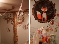 Bring the forest to you with a woodland animals baby shower theme. For baby shower dessert ideas, check out http://simplycreate.com/.