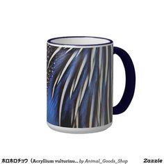 ホロホロチョウ(Acryllium vulturinum)のマグカップ コーヒーマグカップ