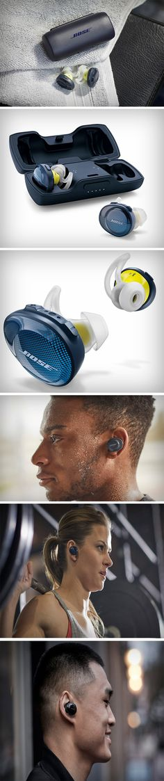 """The SoundSport Free is the closest thing to what people have always wanted in a sports headphone – a technology-packed solution that's stripped down to just two rugged earbuds that feel great, stay connected, stay in, and sound amazing,"" said Brian Maguire, director, Bose on-the-go products. What makes the SoundSport Free special is the balancing act that Bose has executed for the overall design. PRE-ORDER NOW!"