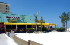 Frenchy's Clearwater - grouper, crab cakes and toes in the sand.