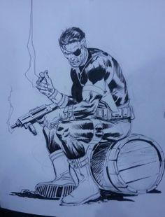 Nick Fury by Lee Weeks *