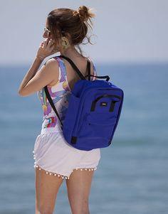 mochila neopreno azul klein-2 Bags, Fashion, Shopping, Backpacks, Blue Nails, Handbags, Moda, Fashion Styles, Taschen