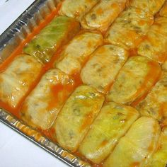 Serbian Vegetarian Stuffed Cabbage Recipe - Posna Sarma I have a big head of cabbage...no plans for slaw and canned cabbage doesn't sound appealing. This may be the thing to try!