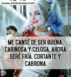 Harley quinn sad quotes: pin by eve 💋 on pura neta. Funny Spanish Memes, Spanish Quotes, Sad Quotes, Love Quotes, Arley Queen, Tableau Pop Art, Motivational Phrases, Joker And Harley Quinn, Sad Love