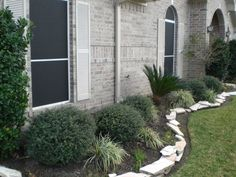 Ready for a front yard change. - Ground Trades Xchange - a landscaping . Small Front Yard Landscaping, Landscaping With Rocks, Outdoor Landscaping, Outdoor Gardens, Landscaping Ideas, Buxus, Patio, Lawn And Garden, Landscape Design