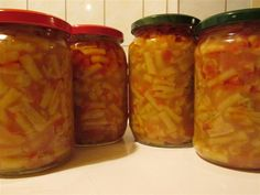 Chicken Recipes, Mason Jars, Goodies, Cooking Recipes, Canning, Food, Roman, Green, Preserves