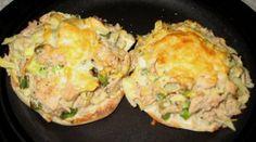 Tuna And Artichoke Open Faced Sandwich
