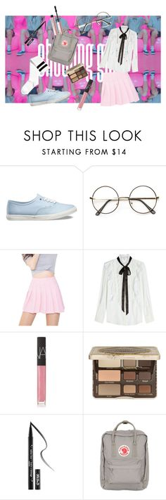 """""""Nct dream - chewing gum"""" by trishatigno ❤ liked on Polyvore featuring Vans, ZeroUV, Marc Jacobs, NARS Cosmetics, Too Faced Cosmetics, Kat Von D and Fjällräven"""