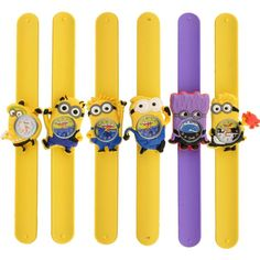Minion Slap On Wrist Watch