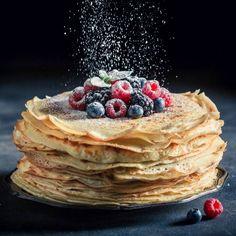 Pannkakor - klassiskt recept på pannkakssmet | Mitt kök Crepes, Pancakes, Brunch, Dessert, Breakfast, Ethnic Recipes, Food, Recipes, Kitchens